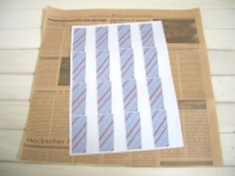 包装紙の準備