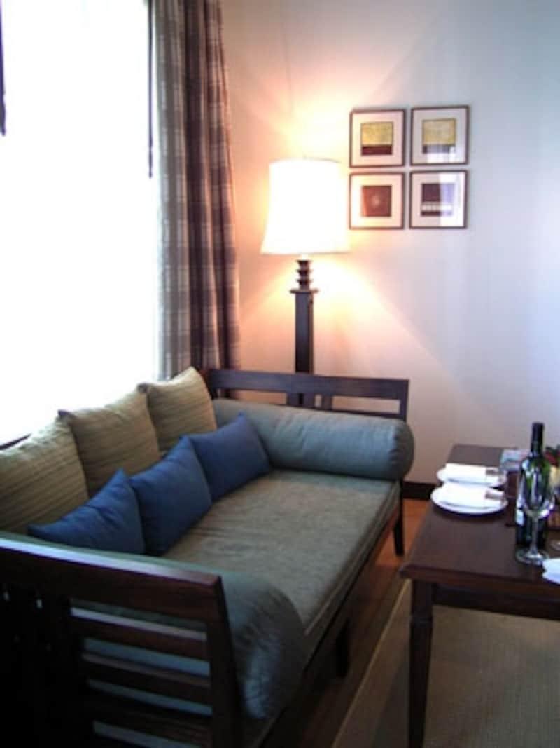 木の質感が贅沢なタイのホテル