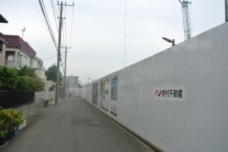 プラウドシティ新川崎の現地