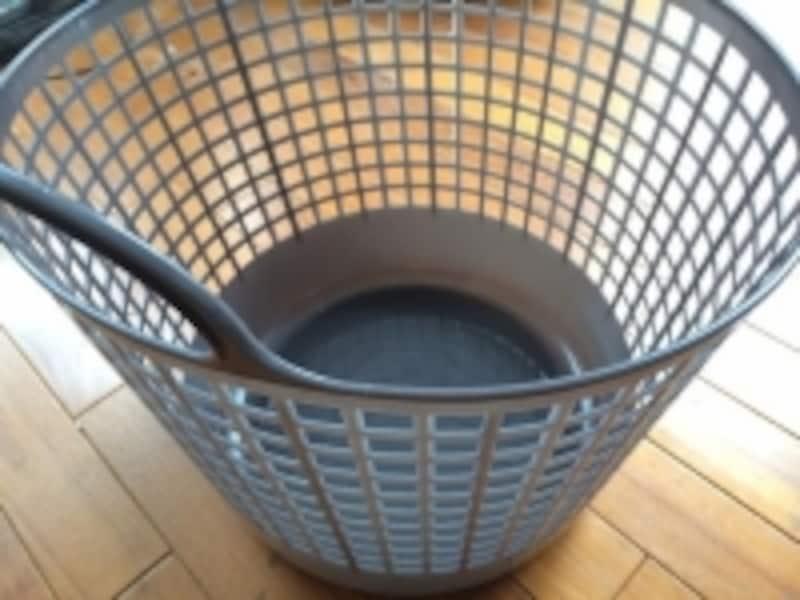 洗濯物を入れるカゴ