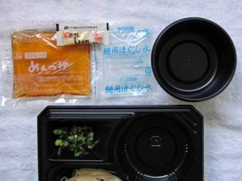 冷し手延素麺揖保乃糸の内容物