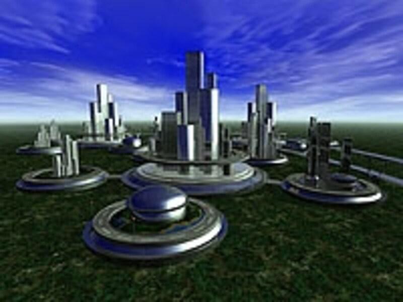100年後の都市の姿がどうなっているのかは分からないが、未来の想像図に一戸建て住宅が描かれていることは少ない
