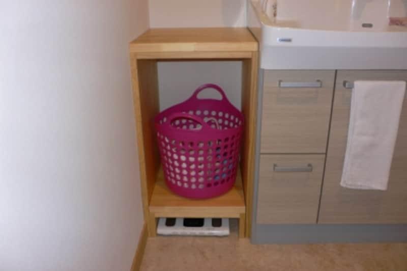 洗面脱衣室造作カウンター
