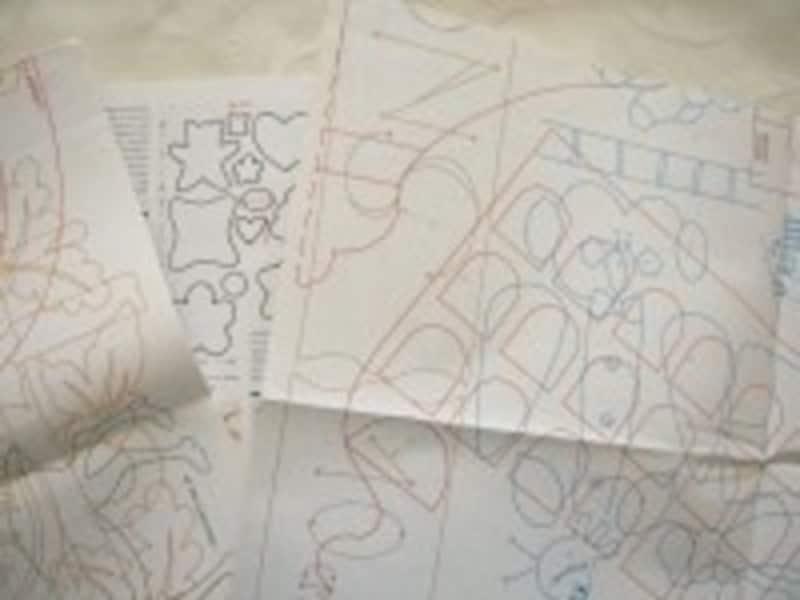 簡単な作品なら型紙を自分で製図したり、フリーハンドで型を作ってみても〇。裁縫初心者は、既存の型紙を上手に利用するのがおすすめ!
