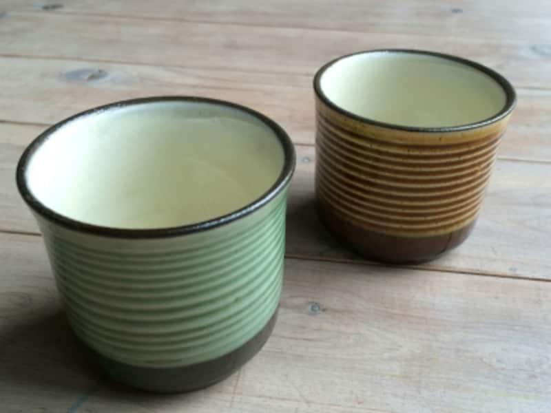 小鹿田焼きのカップ