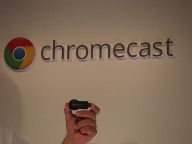 Webコンテンツを大画面で楽しむことができるChromecast