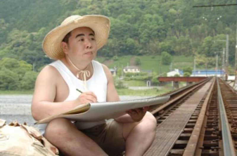 巨匠・山下清を演じた『裸の大将』(画像はAmazonより:http://amzn.asia/acq2h5v)