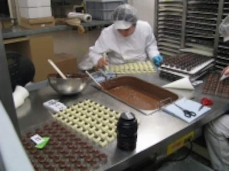 ひとつひとつ手作りだ