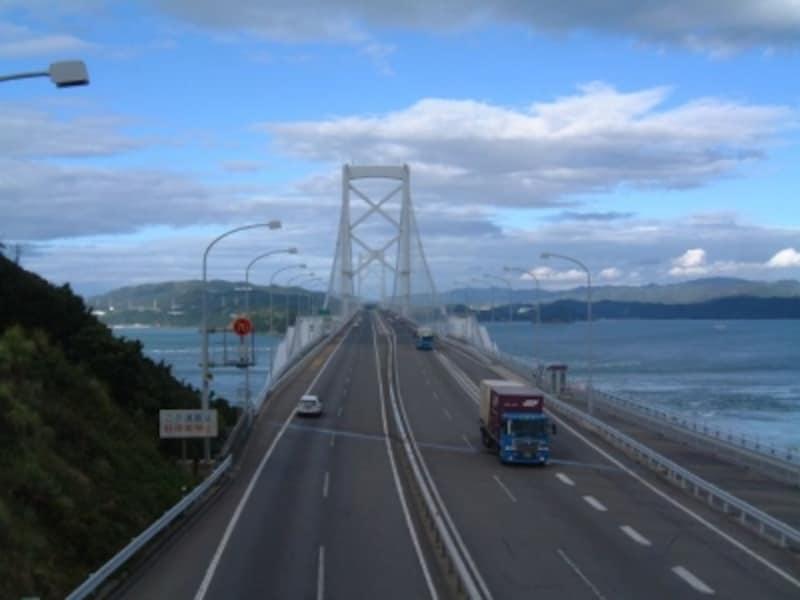 大鳴門橋(5)/大鳴門橋架橋記念館への歩道から眺める