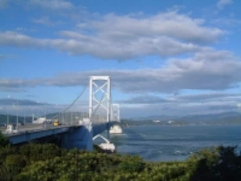 大鳴門橋(6)/鳴門公園の遊歩道からの眺め