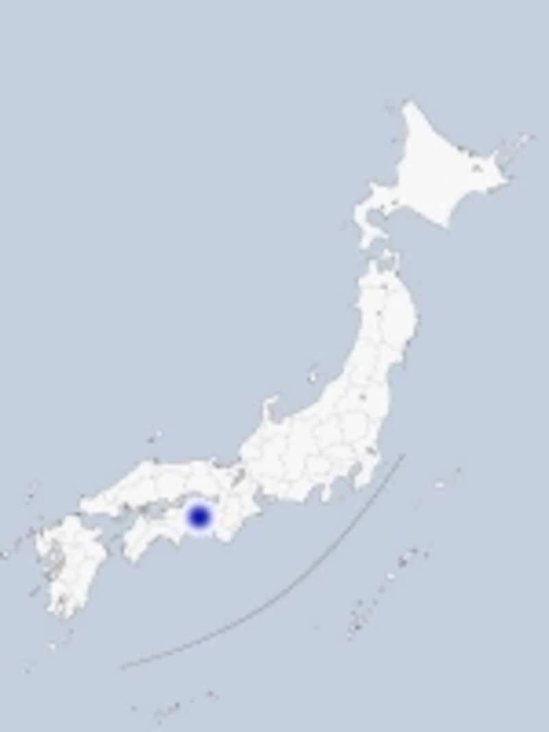 鳴門の地図