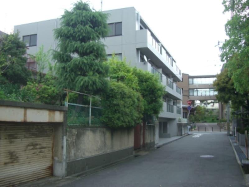 岡本とは住吉川を隔てるもののすぐ近くの場所。JR住吉駅迄徒歩約5分の好立地。
