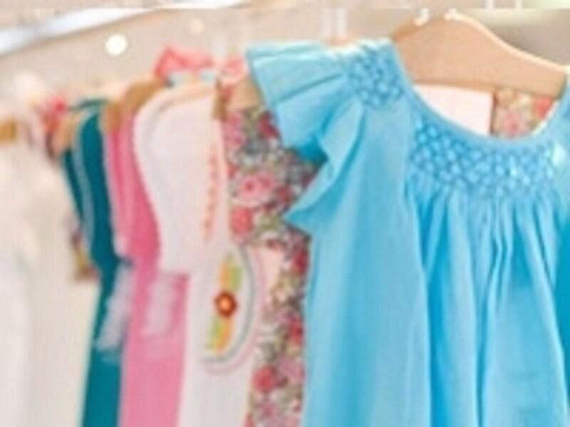子ども服をはじめ、多くの物が定価よりも安い