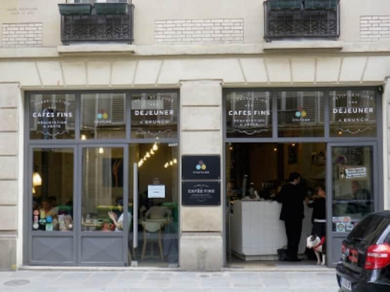 2014年6月、パリ7区のCOUTUME(写真提供狩野知代さん)