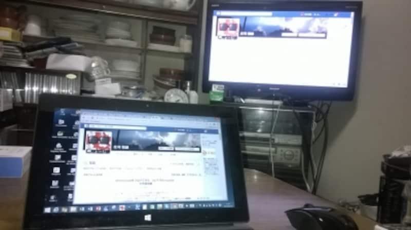 Chromeブラウザのタブ画面でみているコンテンツをテレビで見られる