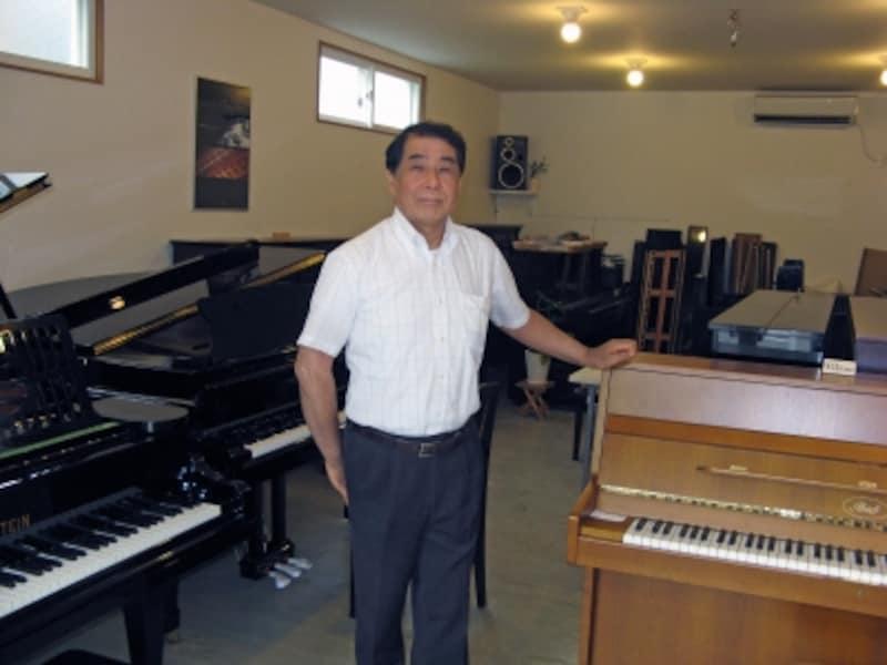 ピアノマイスター伊藤正敏氏の写真