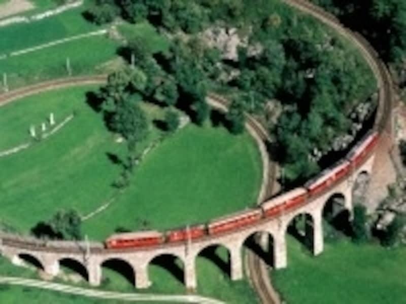 レーティッシュ鉄道は、日本の箱根登山鉄道と姉妹提携を結んでいる