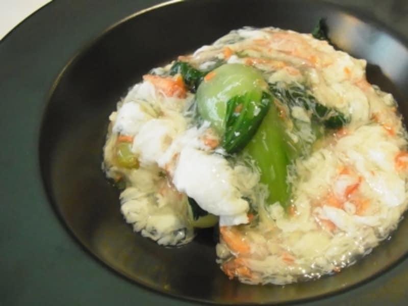 青菜の蟹あんかけundefined1080円