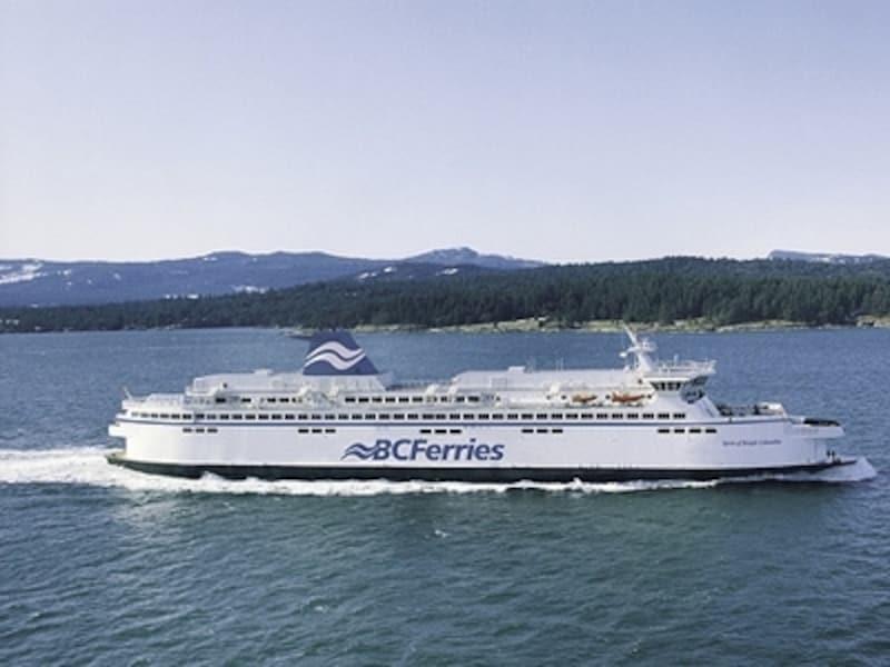 フェリーでの船旅も楽しみ。undefined(C)TourismVictoria