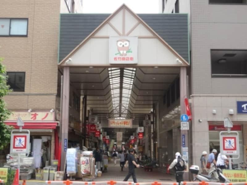 日本で2番目に古い商店街だそうだ