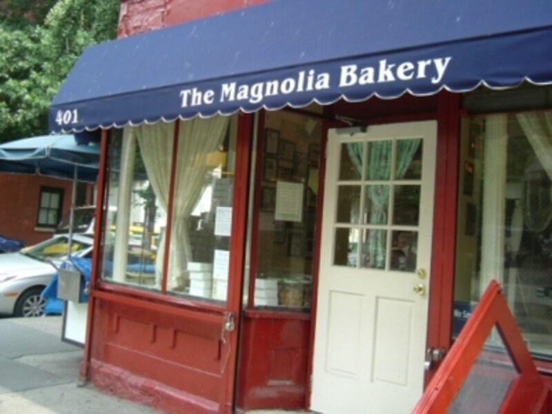 2003年当時NYundefinedBleeckerStreetに、まだ一店しかなかった頃のマグノリアベーカリー
