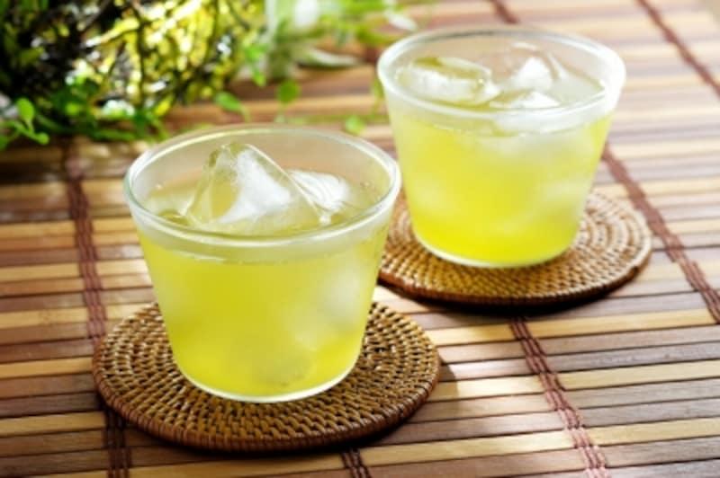 ビタミンC含有量が高い緑茶は美肌の味方!