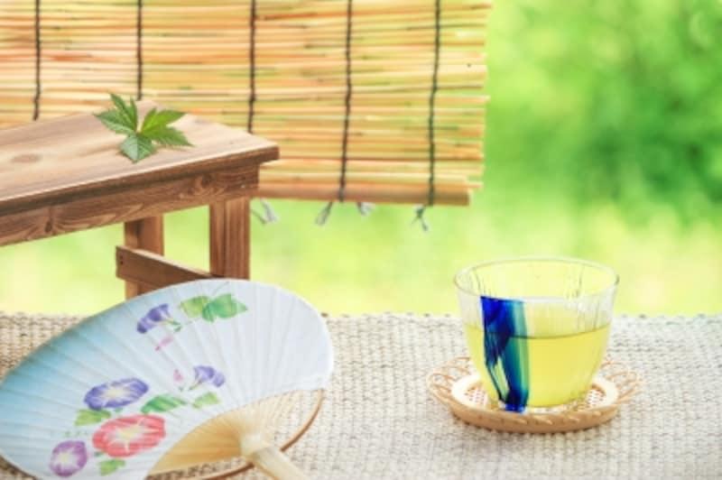 夏こそ緑茶を楽しみましょう