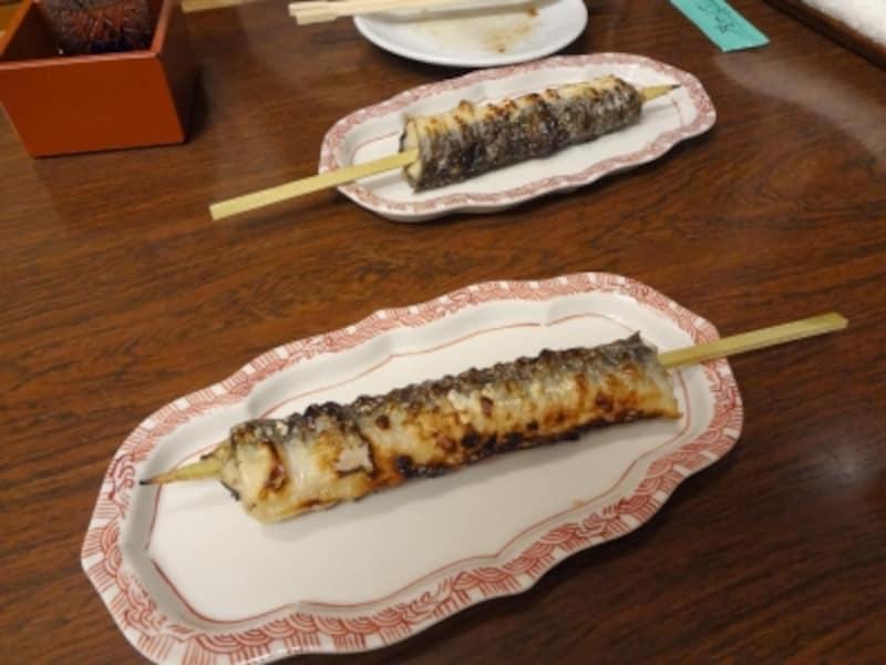日本橋いずもや蒲の穂焼き