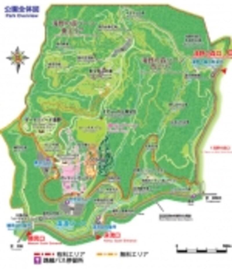 滝野すずらん公園MAP
