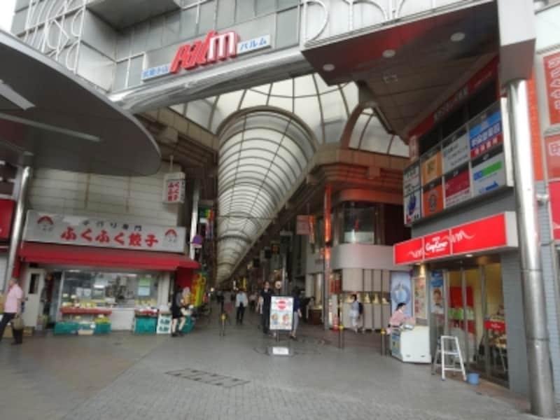 全長800mに250軒のお店がある