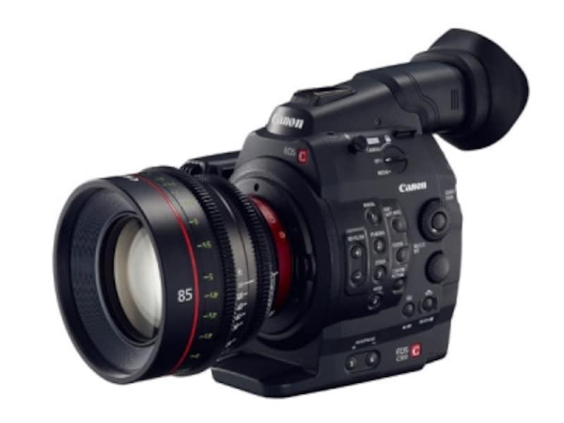 キヤノンの4kビデオカメラ「EOSC500」オープン価格(参考価格:本体のみ約92万円)