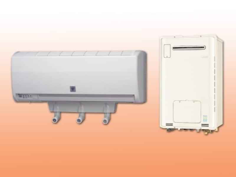 壁掛けタイプのミストサウナユニット