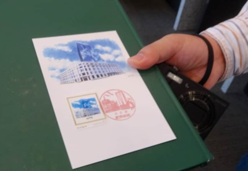 全国の郵便局の半分くらいは風景印があるそうだ