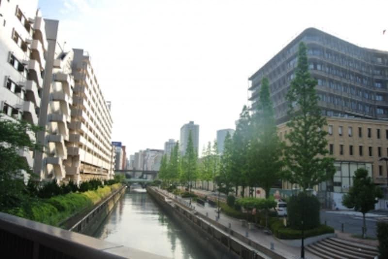 田町駅東口北地区土地区画整理事業の開発街区