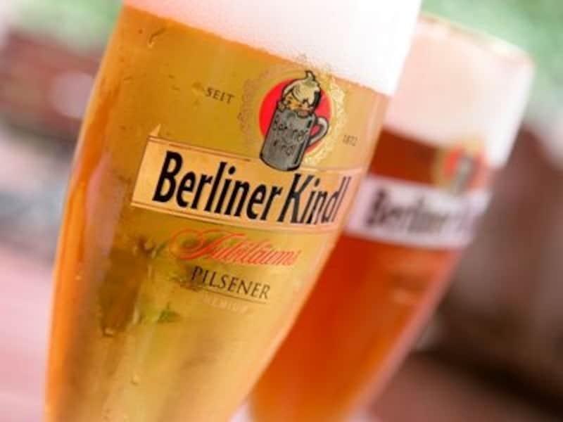 ベルリンの有名ビールブランド、ベルリナー・キンドルのビール©Merten,HansPeter