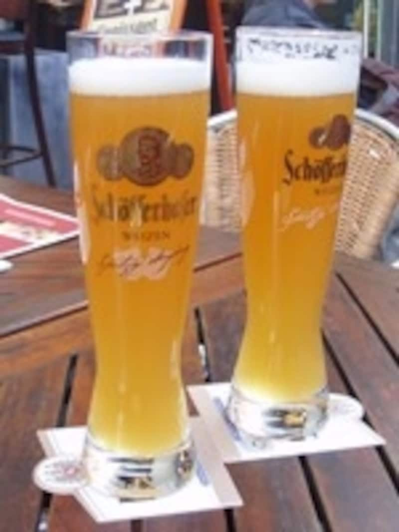 南ドイツでもっぱら飲まれるのはヴァイツェン