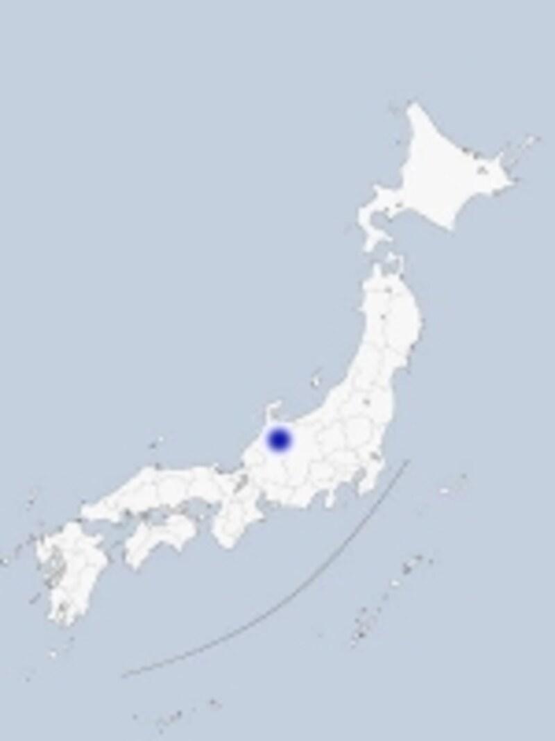 砺波の地図