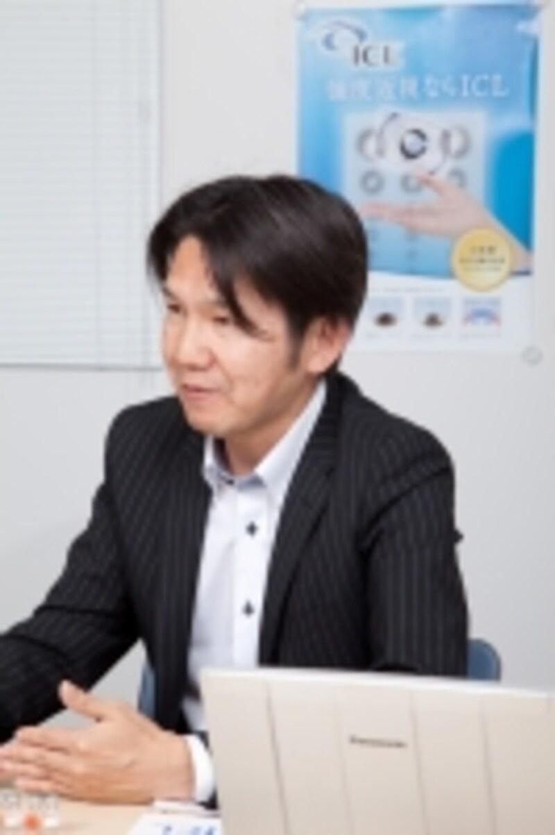 お話を伺ったのはスタージャパン合同会社マーケティング部undefined根木郁夫さんundefined撮影:多田裕美子