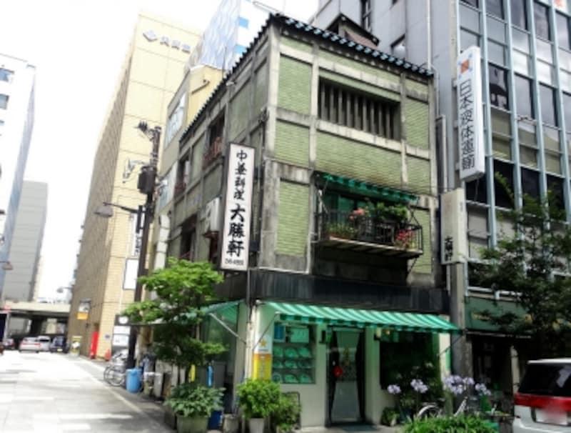 創業は昭和8年、この建物は昭和32年に建て替えられたのだそうだ