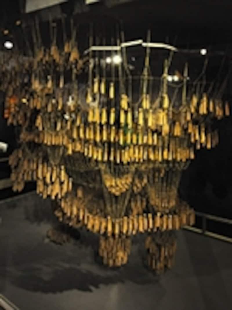 サグラダファミリア博物館のフニクラ