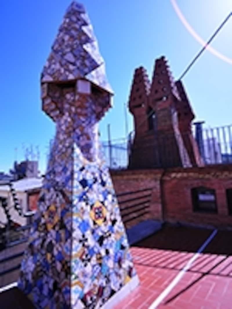 グエル邸屋上のオブジェ