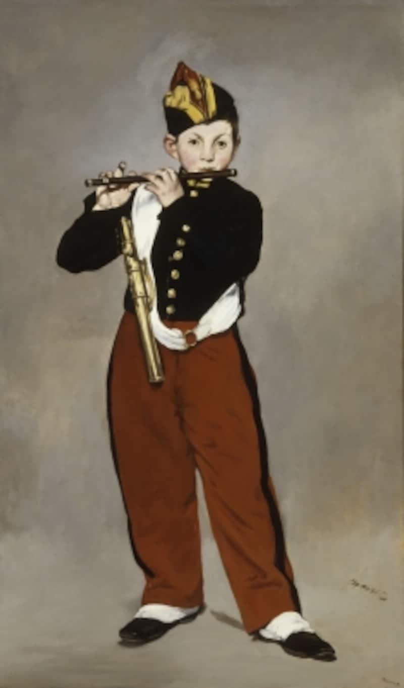 エドゥアール・マネ《笛を吹く少年》1866年油彩/カンヴァス160.5×97cm?RMN-GrandPalais(mus?ed'Orsay)/Herv?Lewandowski/distributedbyAMF