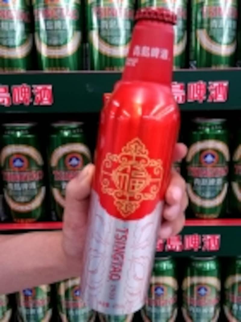 青島ビール「鴻運當頭」