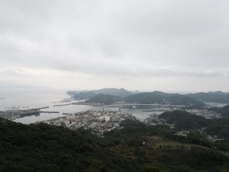 天草の海(3)/牛深・遠見山桜木展望所からの眺め
