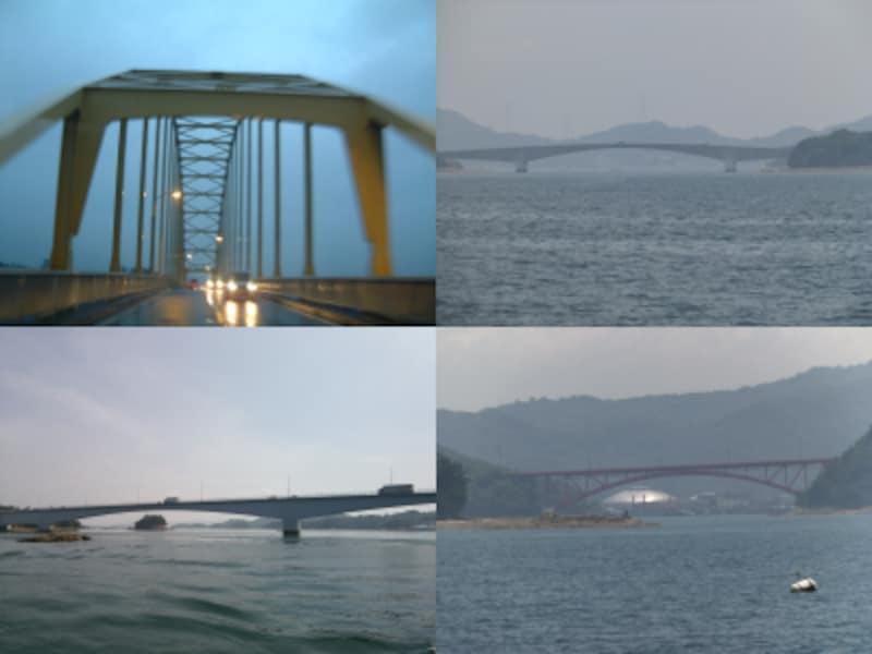 天草五橋(大矢野橋、中の橋、前島橋、松島橋)