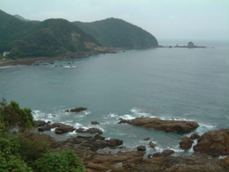 天草の海(1)/鬼海ヶ浦展望所から眺める風景