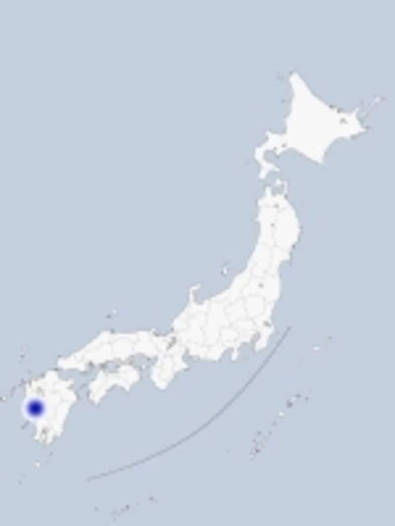 天草の地図