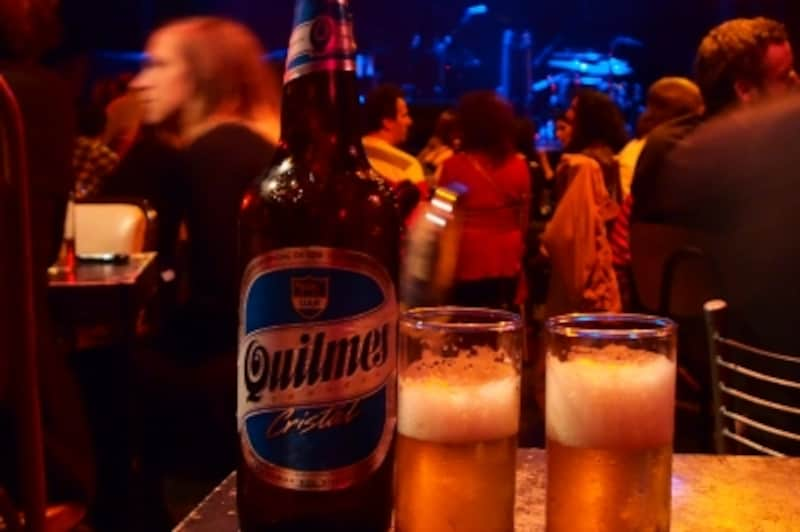 アルゼンチンビールの代名詞であるキルメスはどこに行っても飲めるundefined写真提供:HUMMOCKCafe