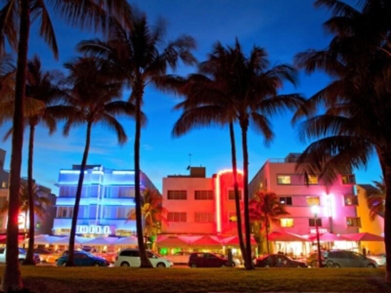 リゾート都市マイアミ