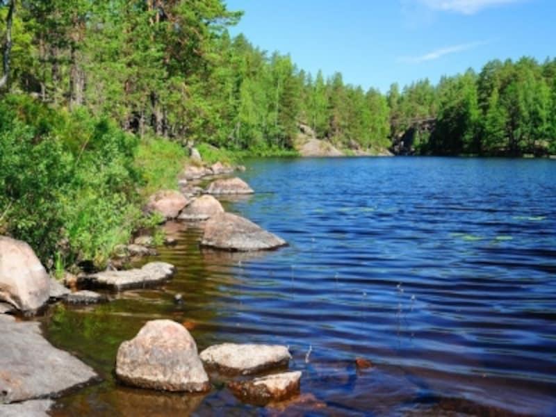 森と湖の国フィンランド